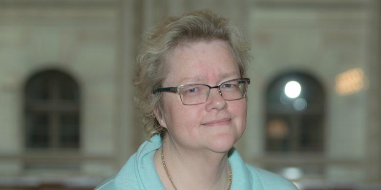 Inga Näslund, Palmecentret, Bild: Lena Dahlström