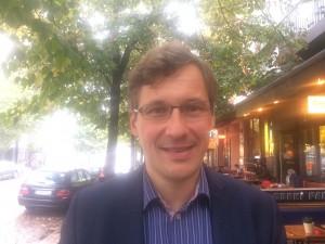 Daniel Sturm, journalist på Die Welt. Bild: Elsa Persson.