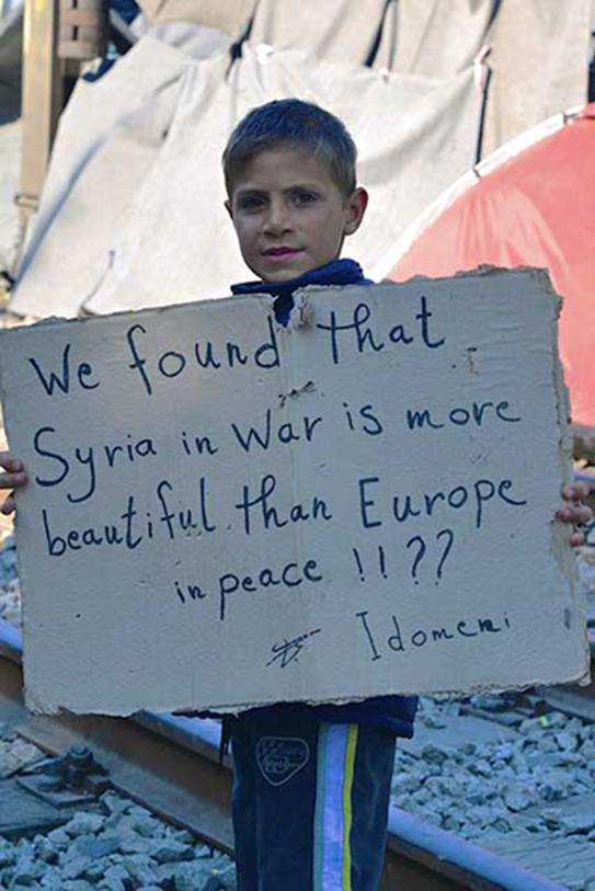 Mario Fornasari_Infanzia negata Idomeni, campo profughi