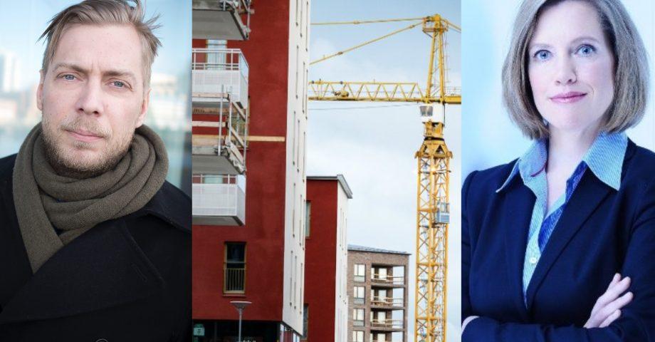 Porträttbilder på Martin Grander, Malmö universitet och Anna Granath Hansson, KTH.