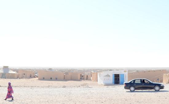 """Flyktinglägret """"Smara"""", västra Algeriet. Bild: Magnus Åsblad"""